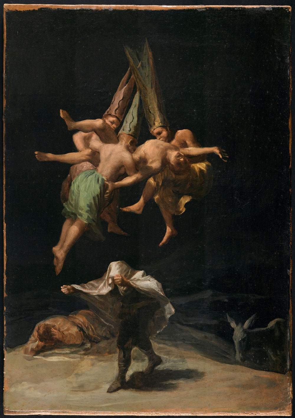 Vuelo de brujas. Francisco de Goya. Museo del Prado.