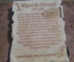 Cervantes Cartagena de Indias