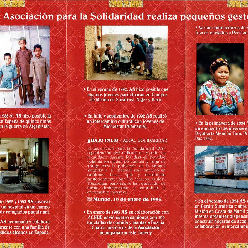 Encuentro con Rigoberta Menchú 1994