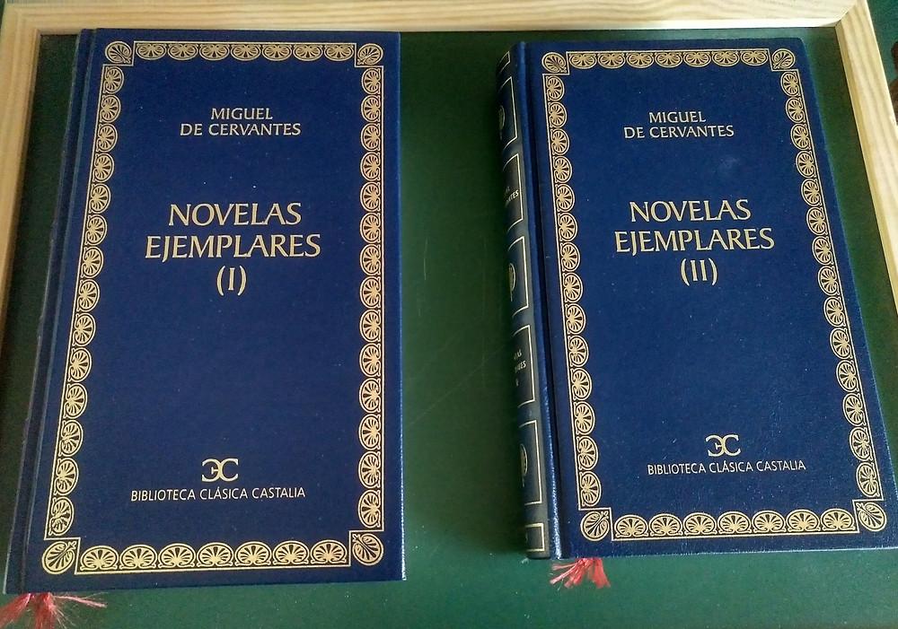 Novelas ejemplares. Miguel de Cervantes. Edición, notas e introducciones de J. B. Avalle-Arce. Editorial Castalia. Madrid. 2001.