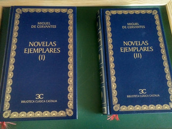 <Novelas ejemplares> de Miguel de Cervantes.(1) <La gitanilla>. <El amante liberal>.