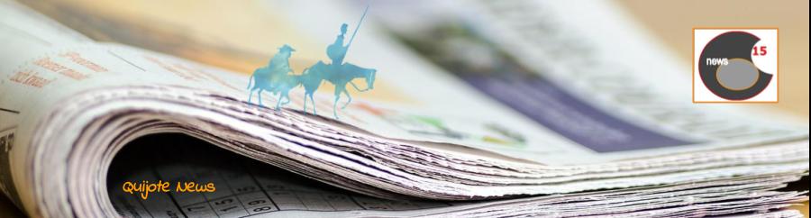 Imagen de la página web Quijote News.