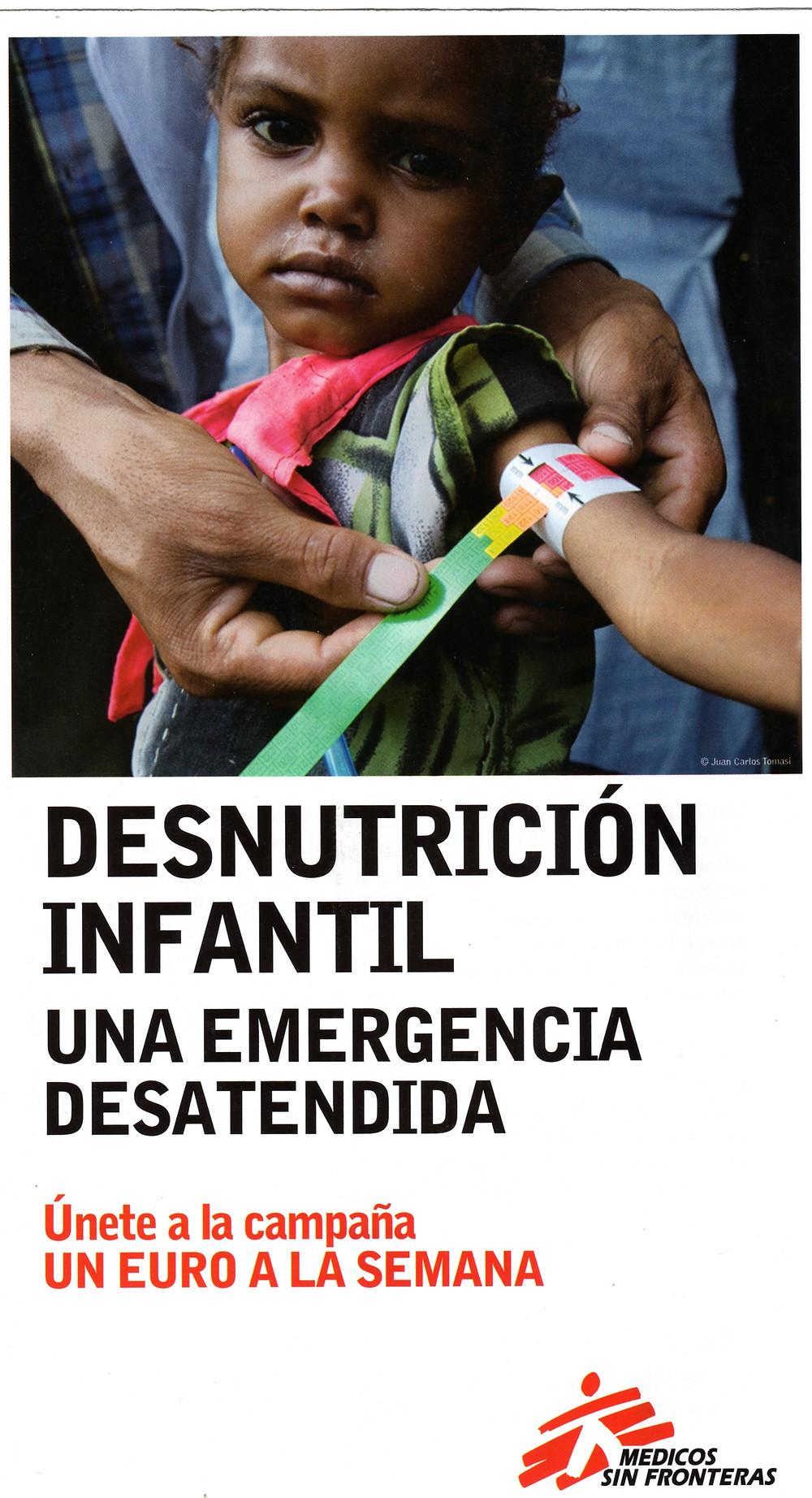 Vídeo de la campaña de Médicos sin Fronteras. 2008.