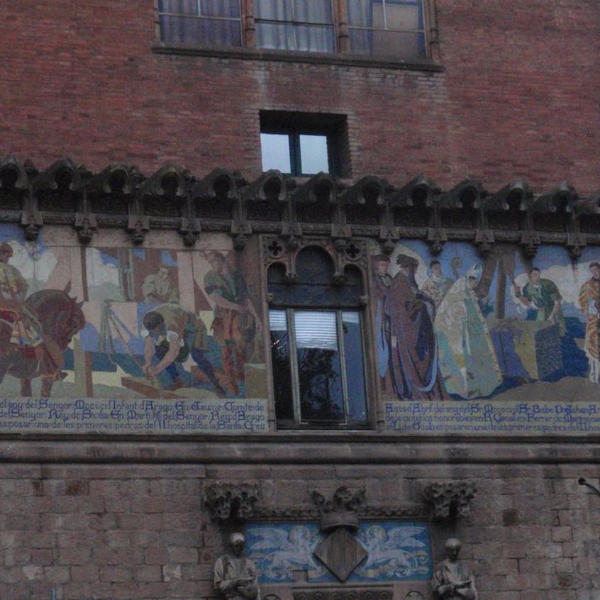 Hospital de la Santa Creu. Barcelona