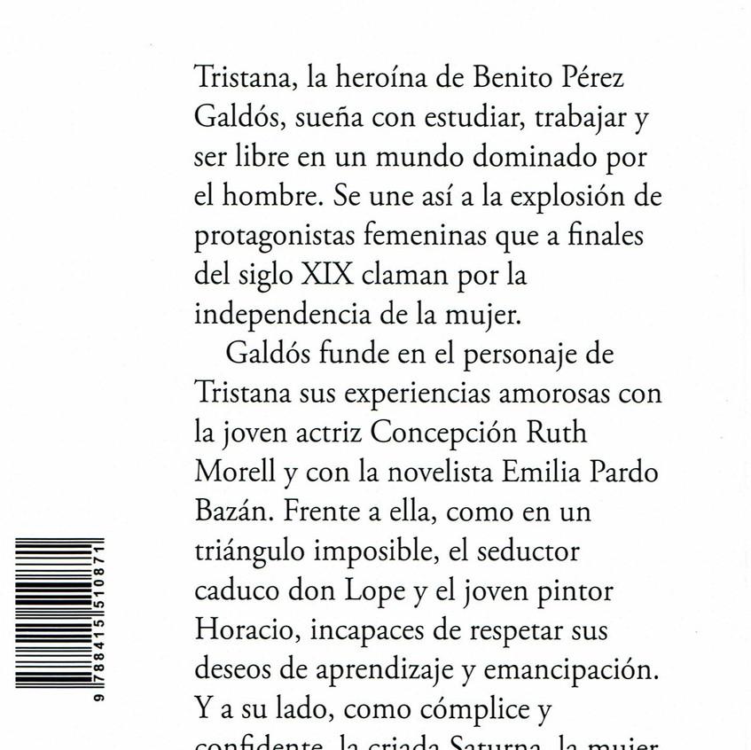 Tristana. Galdós.Eduardo Galán. 2019.2.