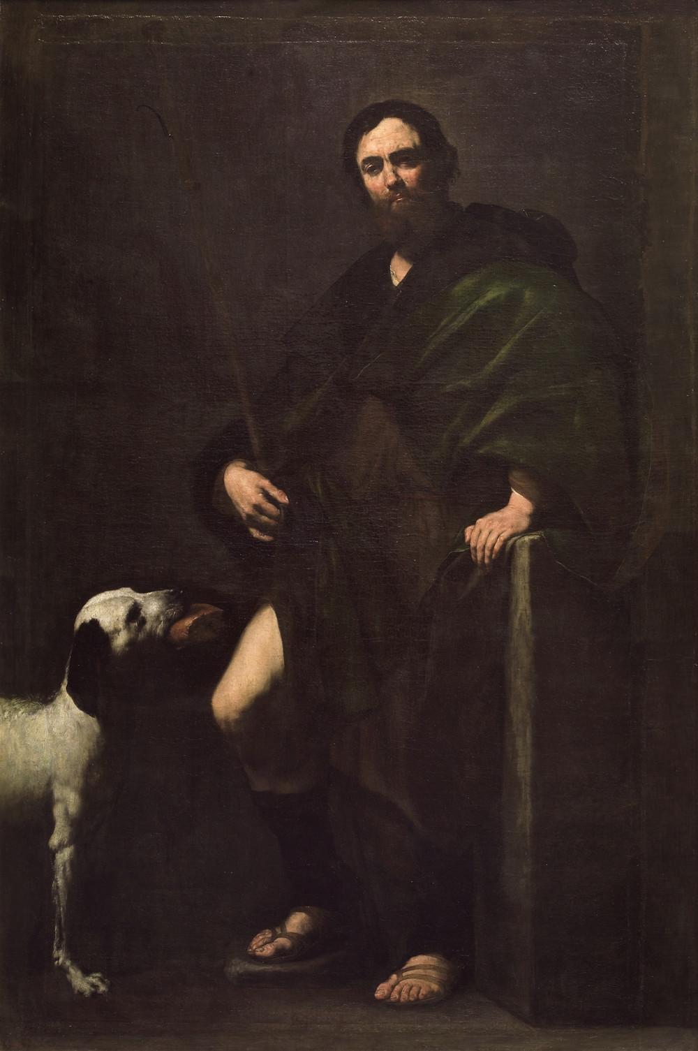 San Roque(1631). José de Ribera. Museo del Prado.
