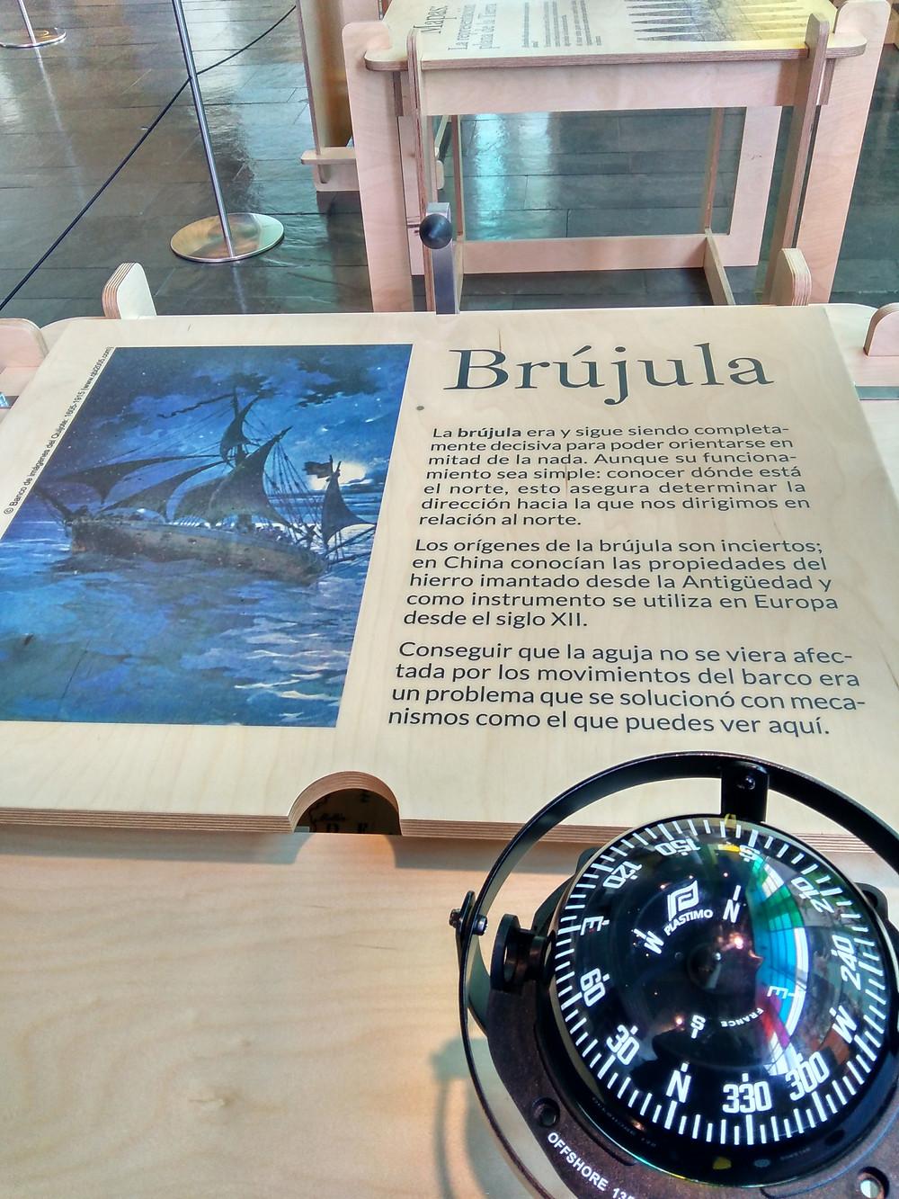 Museo Nacional de Ciencia y Tecnología. Alcobendas. 2016. Exposición Cervantes: El Universo Todo.