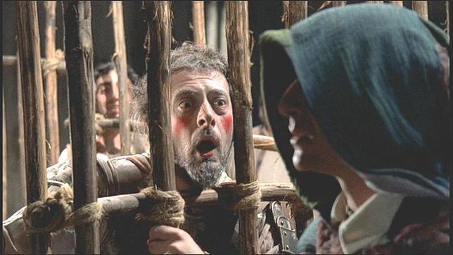 Una escena del Quijote de Scaparro. Foto ABC.