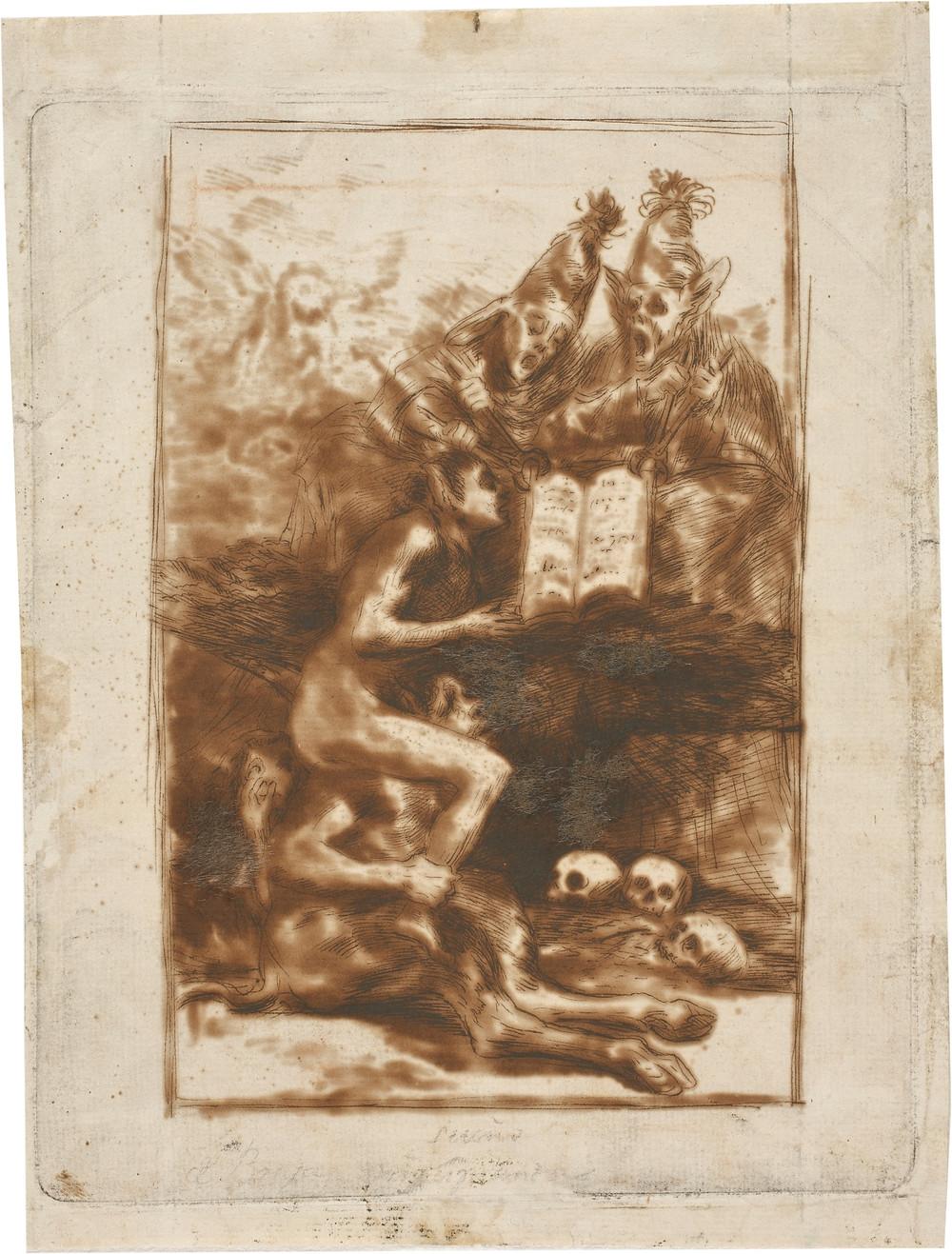 Sueños De Brujas. Francisco de Goya. Museo del Prado.
