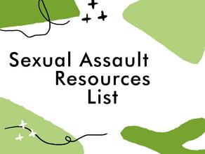 Sexual Assault Resources
