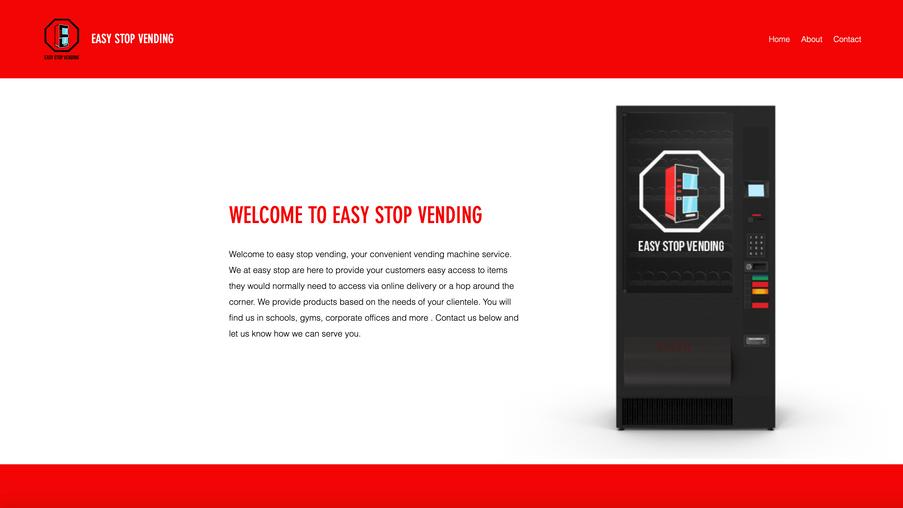 Easy Stop Vending Website