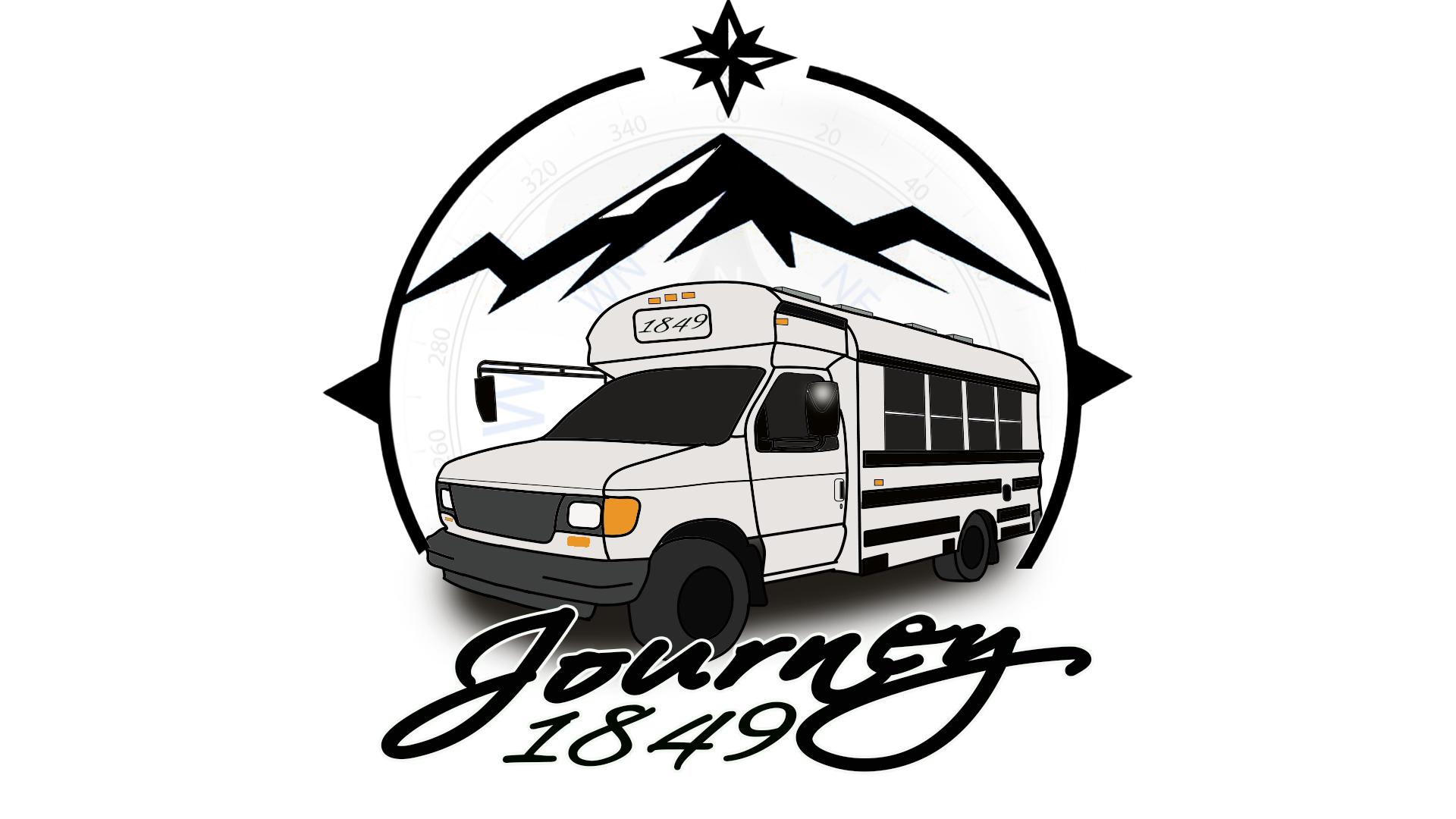 Journey 1849 new logo design.
