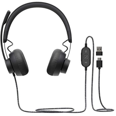 Logitech Zone Wired headphones