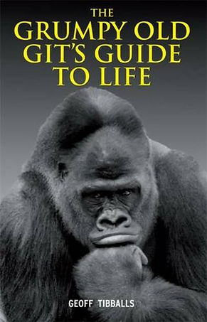 The Grumpy Old Git's Guide To Life cover and Amazon link to buy