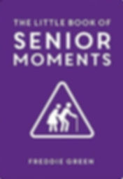 book cover picture link - little book of senior moments