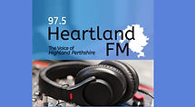 Heartland FM link graphic to audio player