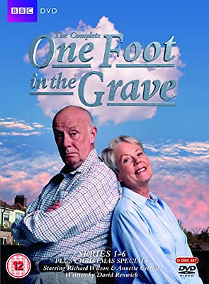 One Foot In The Grave dvd cover graphic link to Amazon
