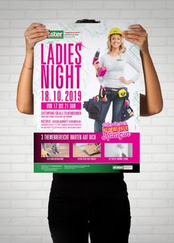 EBSTER Ladies Night Poster