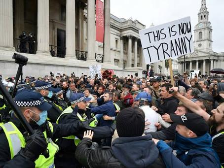 Um Protesto Sem Fundamento Leva a Mais Repressão.