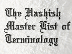 The Master List of Hash and Cannabis Terminology