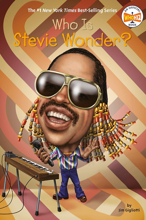 Reading Group: Who Is Stevie Wonder?