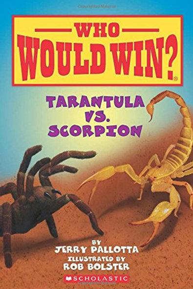 Reading Group: Who Would Win? Tarantula vs. Scorpion