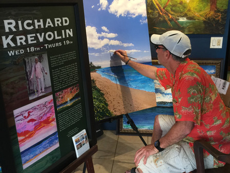 Gallery Painting in Maui