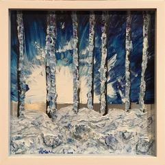 WINTER FOREST SCENES
