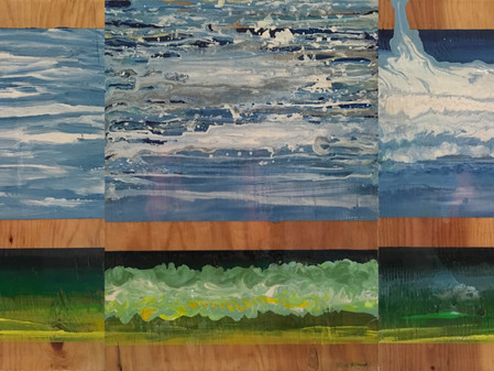Maui Seascapes -- Abstract and Impressionistic