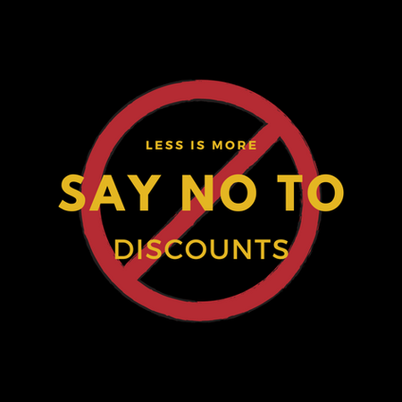 Why Are Discounts Harmful?