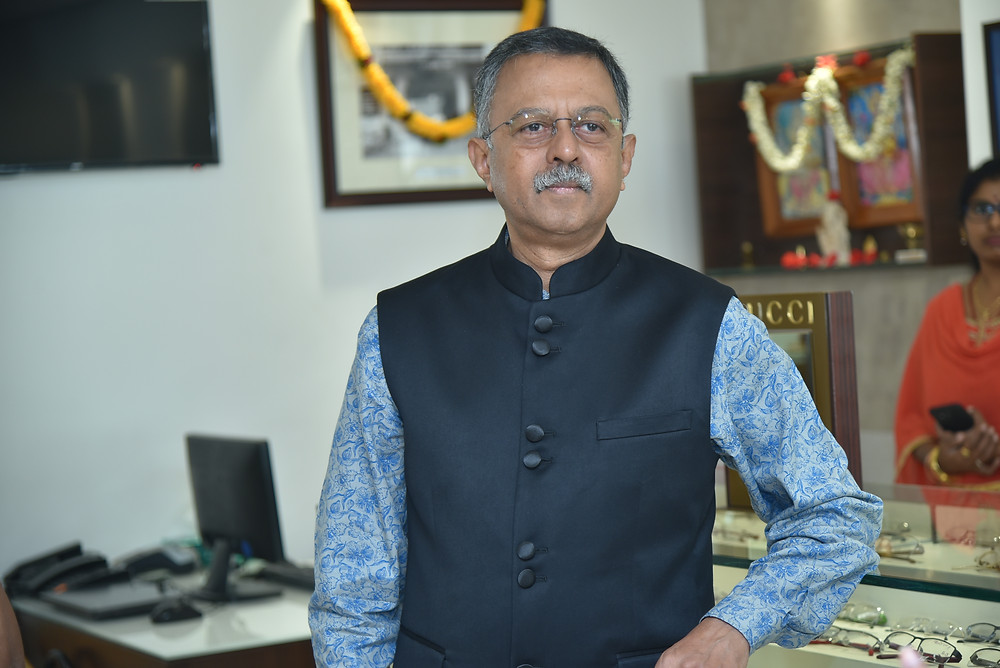 Hemanth Manay CEO & Chief Consultant Optometrist, S R Gopal Rao Opticians