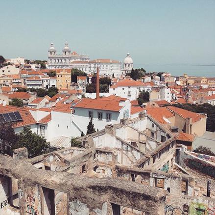 Vue - Lisbonne