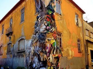 Le street art de Bordalo II à Lisbonne