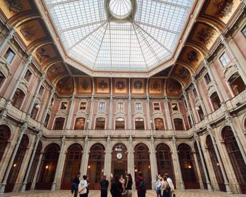 Visiter le Palácio da Bolsa à Porto