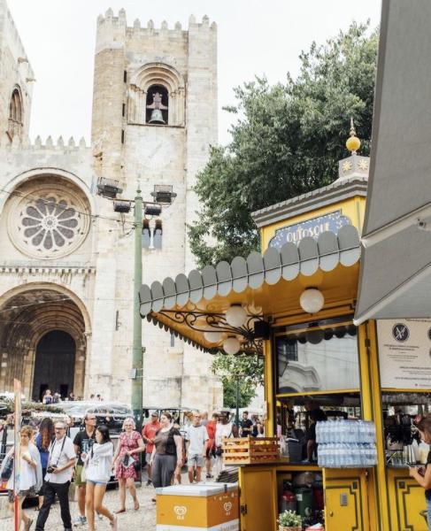 Kiosque Lisbonne - Voyage a Lisbonne Blog