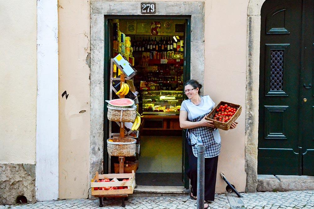 Épicerie - Voyage à Lisbonne Blog