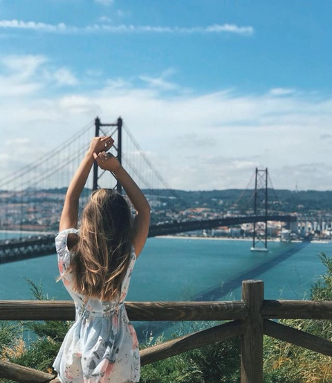 Vue Lisbonne du Cristo Rei - Voyage à Lisbonne Blog