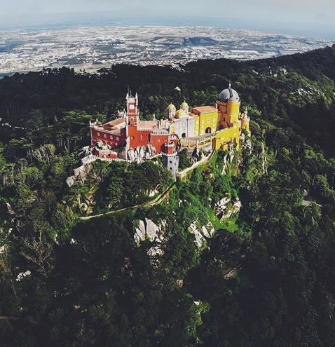 Palácio da Pena Sintra - Voyage à Lisbonne blog
