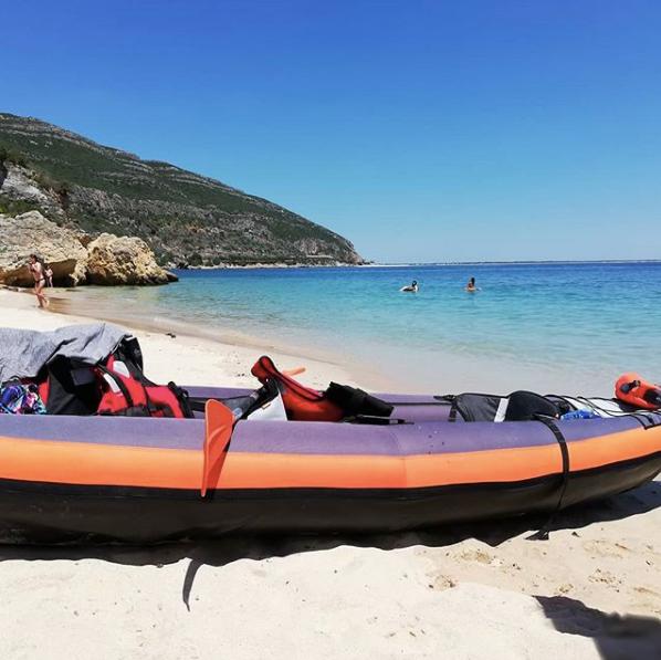 Journée Kayak - Voyage à Lisbonne blog
