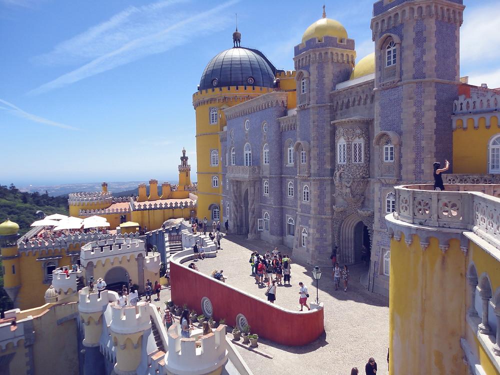 Palácio da Pena - Sintra Voyage à Lisbonne Blog