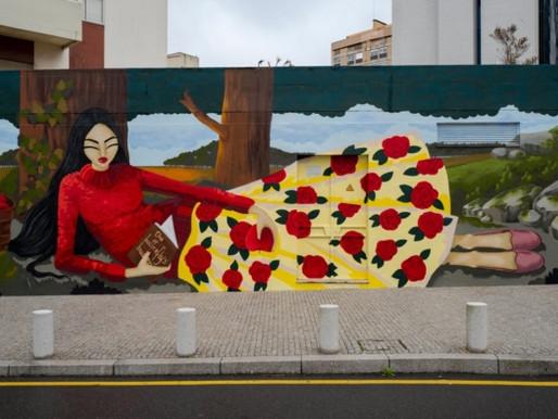 Art Urbain - Street Art : le nouveau mural de Porto !