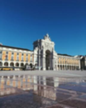 Praça do Comércio - Voyage à Lisbonne