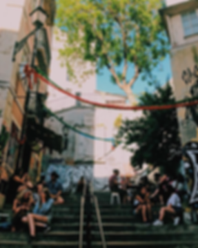 Escaliers - Voyage a Lisbonne