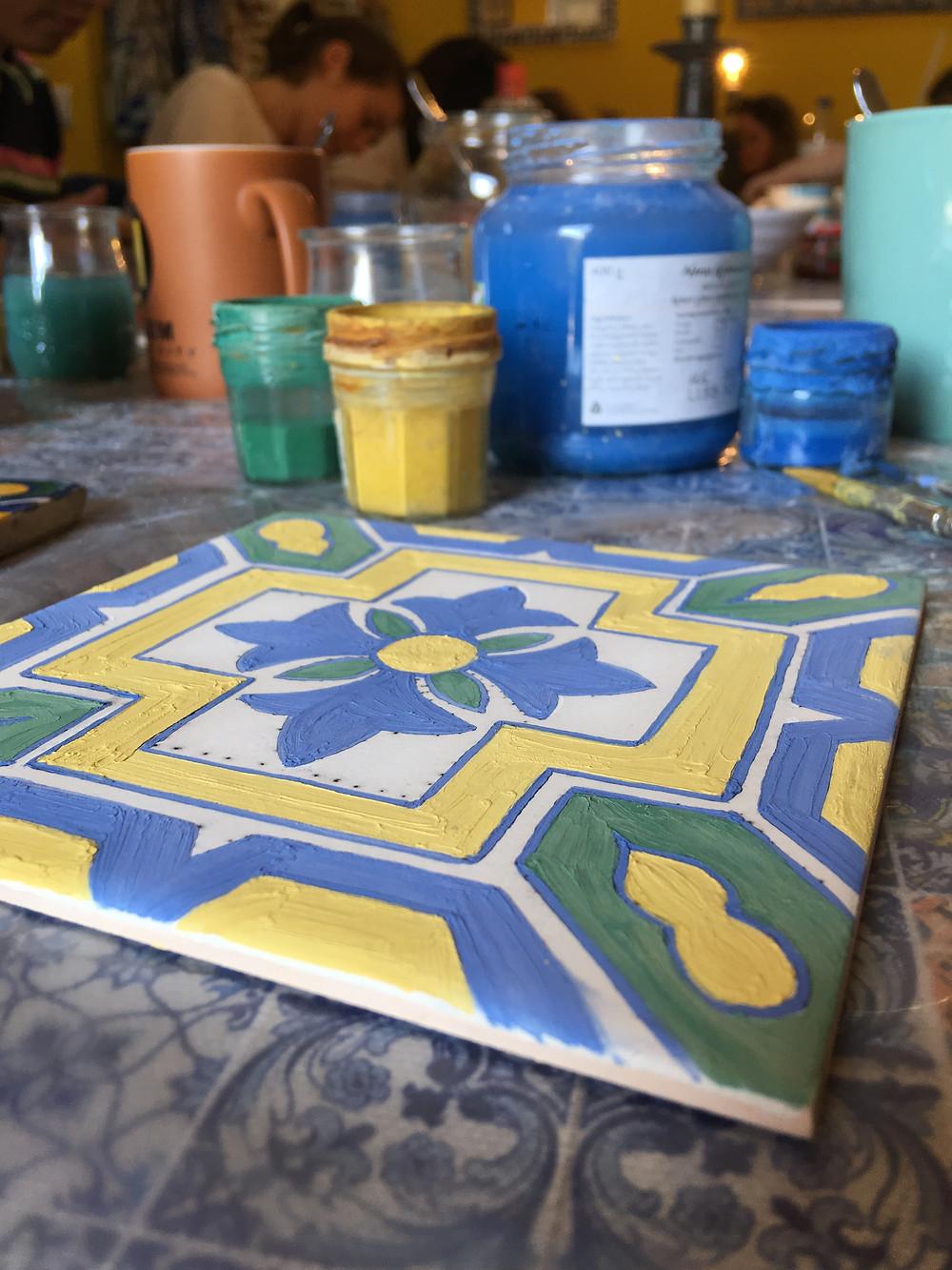 Cours Azulejo - Voyage à Lisbonne blog