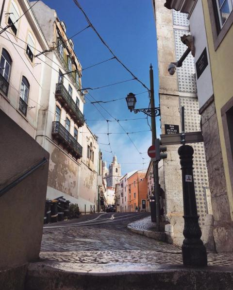 Carte postale Lisbonne - Voyage à Lisbonne Blog