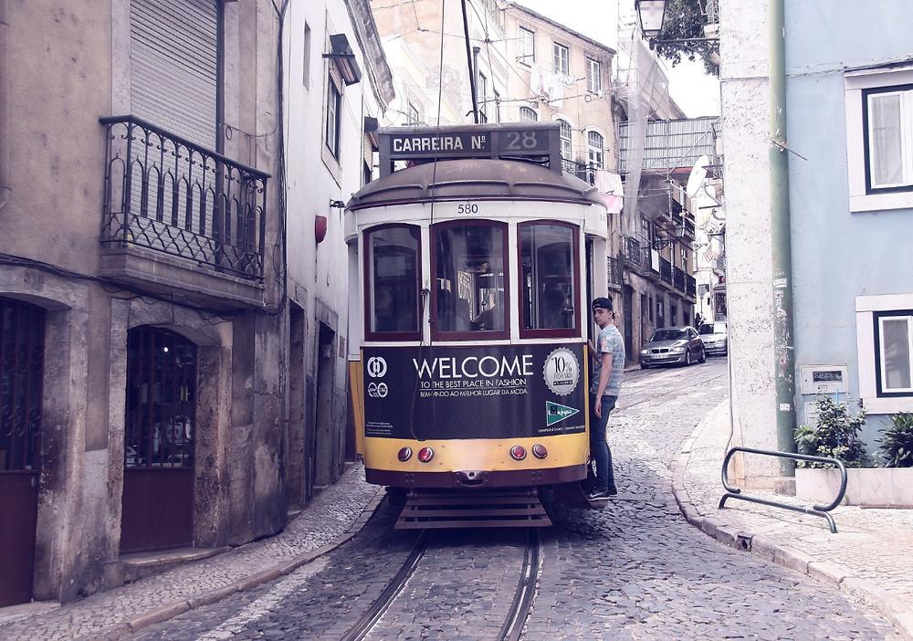 Tramway Voyage à Lisbonne Blog