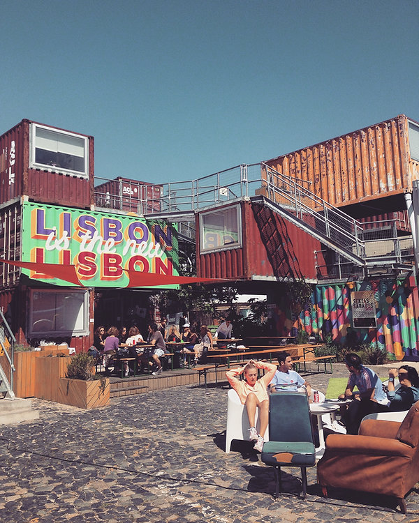 Bar - Voyage a Lisbonne