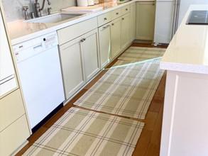 TWEAKS+inspiration : Forward Thinking Kitchen Rugs