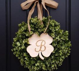 Happy Hour : Spring Wreath