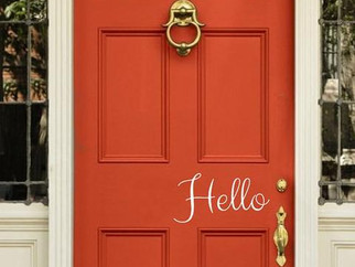 Happy Hour : Hello, Front Door
